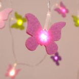 ThinkGadgets Felt Shapes battery LED fairy light chain